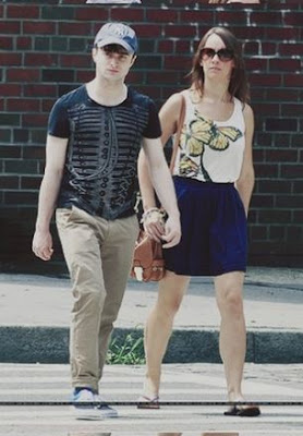 Daniel Radcliffe Girlfriend Images 2012