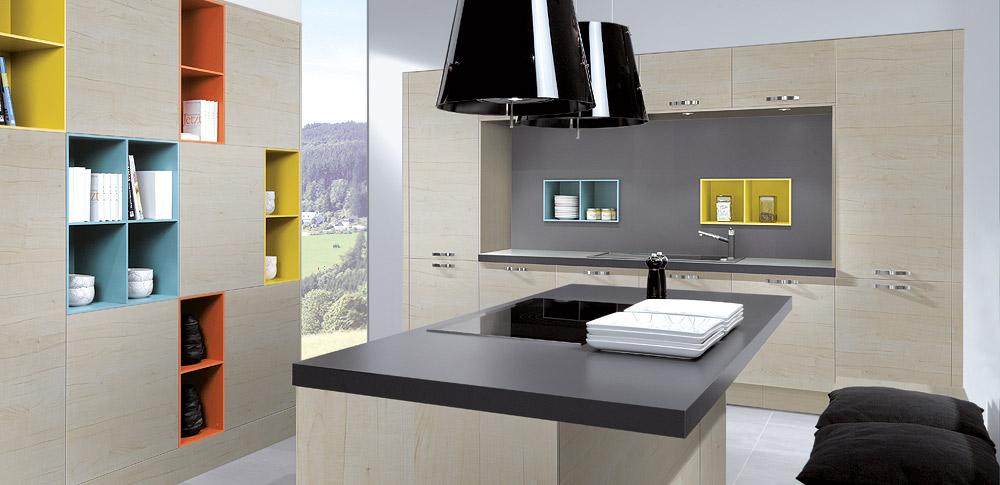Las influyentes paredes de la cocina cocinas con estilo - Paredes para cocinas ...