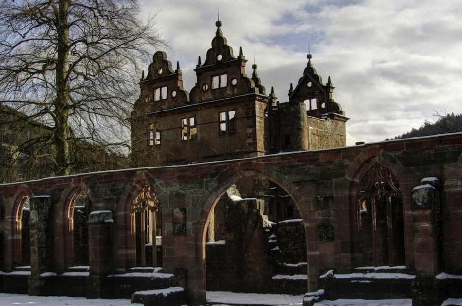 15th century monastery, Black Forest, Germany - 30 Abandoned Places that Look Truly Beautiful