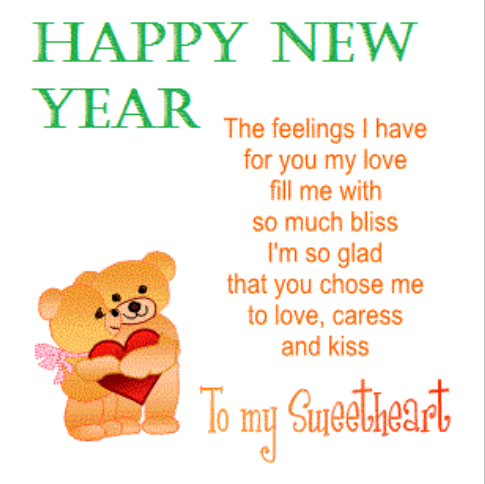 Happy New Year 2015 Romantic Greeting Cards | Happy New Year 2015 ...