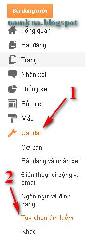 Bật chức năng mô tả tìm kiếm tự động cho blogspot - SEO hiệu quả cực ttots
