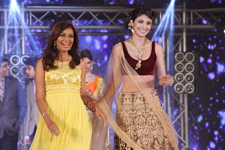 Shilpa Shetty Walks the Rapm in Maroon Chania Choli Stunning Slim Beauty Must See