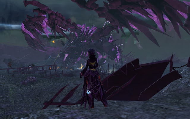 GW2 Guild Wars 2 Shatterer dragon