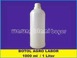 Jual Botol HDPE 1 Liter Transparan