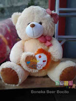 Boneka Bear Cream