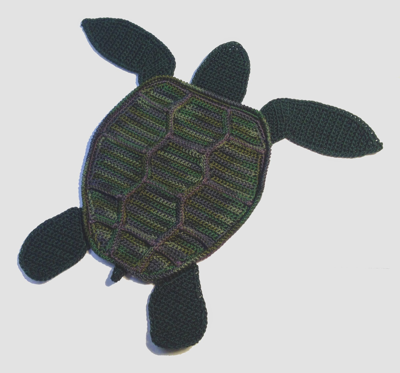 Monster Crochet New Pattern Sea Turtle Applique