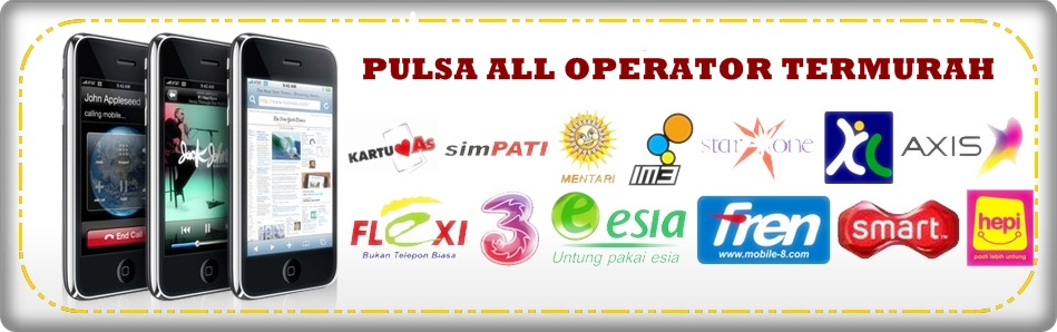 Image Result For Pulsa All Operator Bekasi