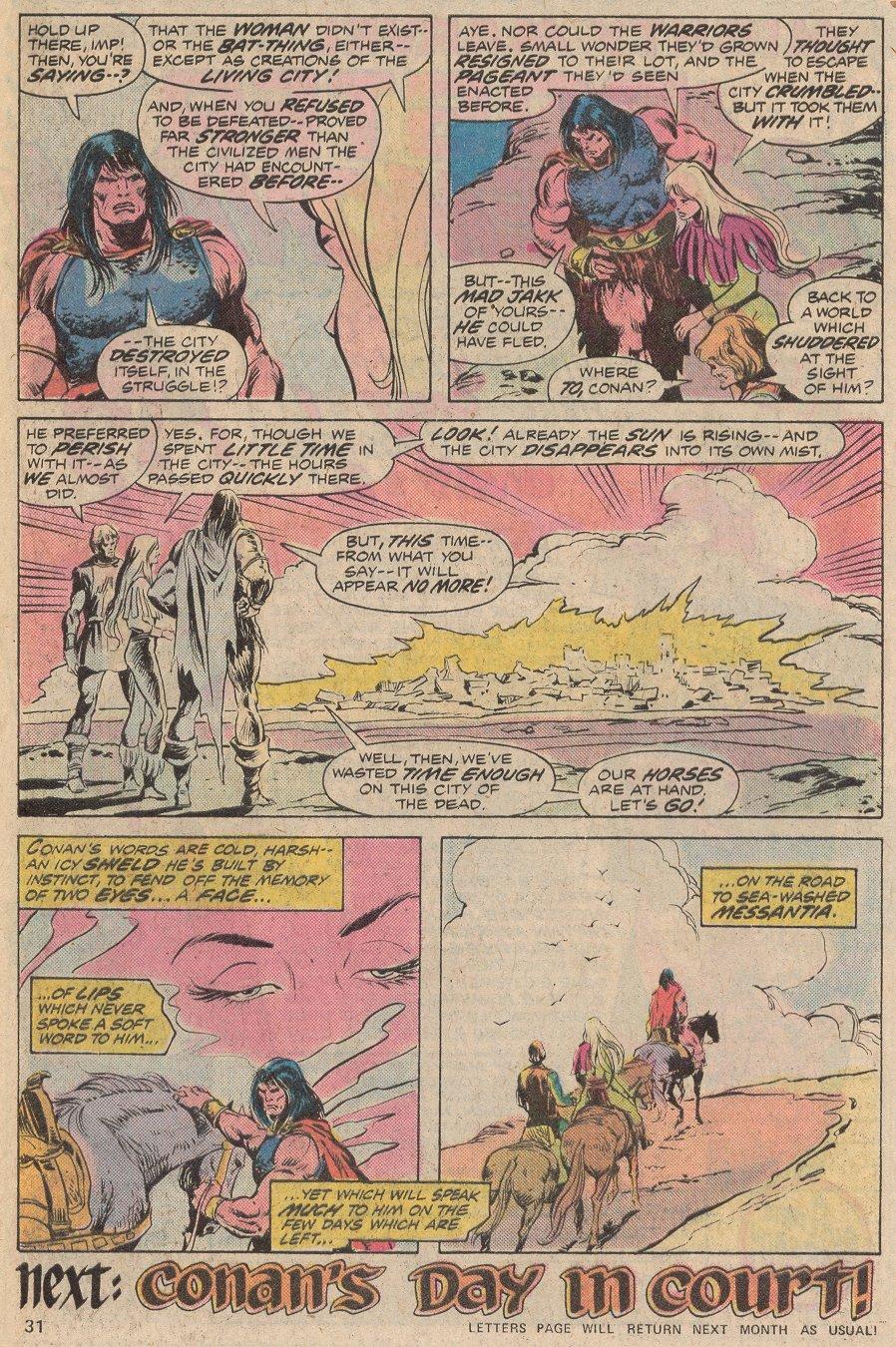Conan the Barbarian (1970) Issue #56 #68 - English 23