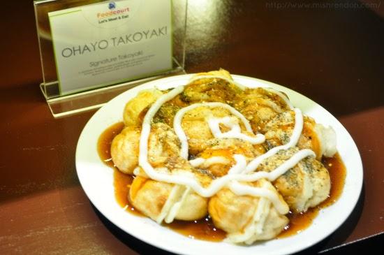 Signature Takoyaki from Ohayo Takoyaki SM Fairview Foodcourt