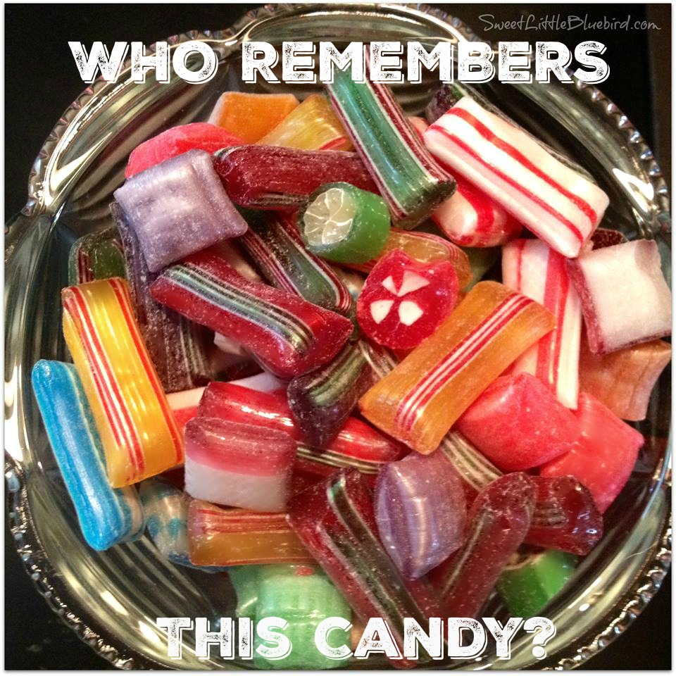 do you remember this candy - Christmas Hard Candy