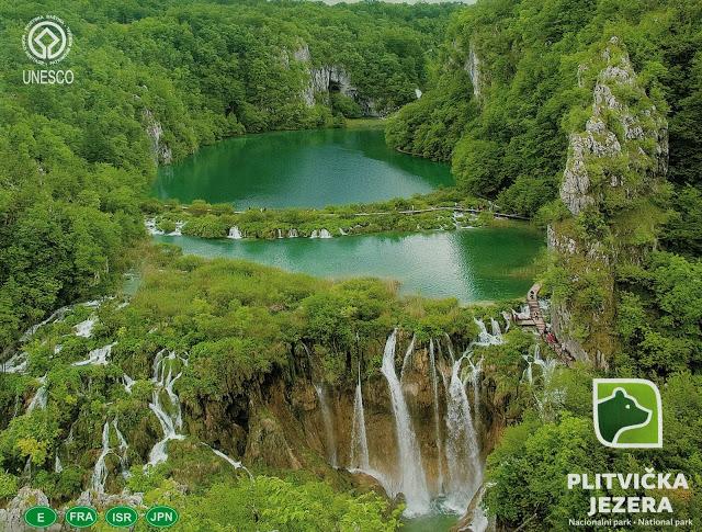 Croácia: Parque Nacional dos Lagos de Plitivice