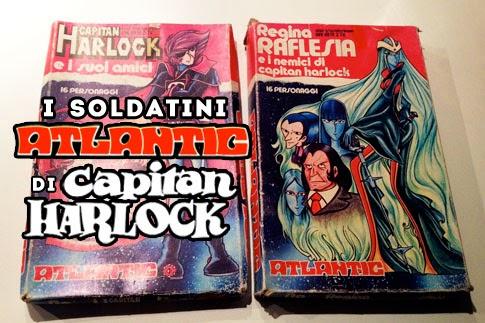 Soldatini Atlantic Capitan Harlock