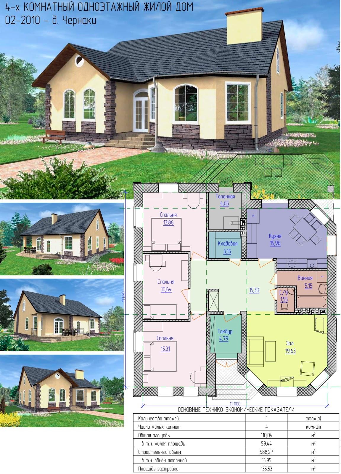 Проектирование дома своими руками: как сделать проект дома самому 35
