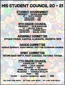 Student Council 20-21