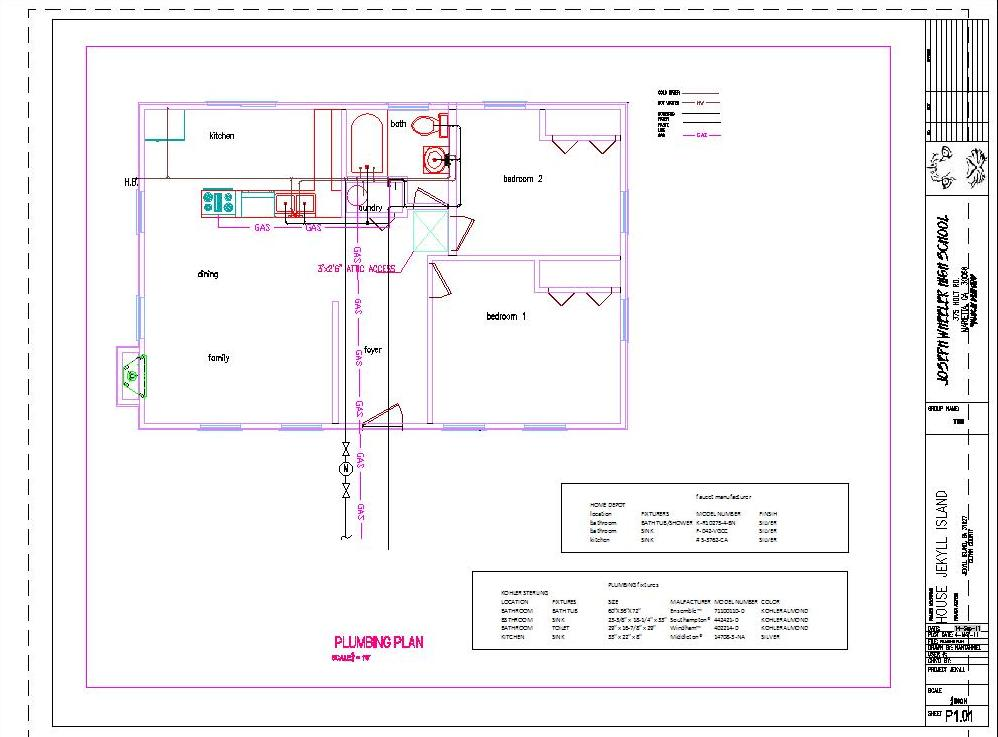 Awesome plumbing blueprints 17 pictures building plans for Plumbing blueprints for my house
