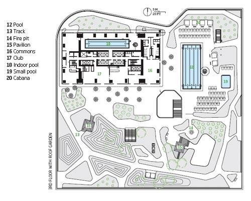 Arch 1390 2013 yao liu week 4 studio exercise 3 for Roof garden floor plan