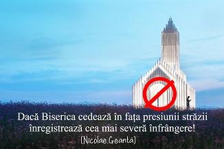 Nicolae Geantă 🔴 Când Biserica cedează la presiunea străzii