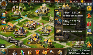 Age Of Warring Empire - Game Strategy Android Terbaik