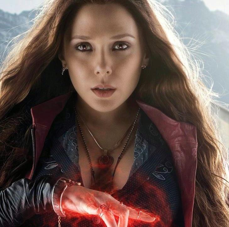 scarlet witch,elizabeth olsen