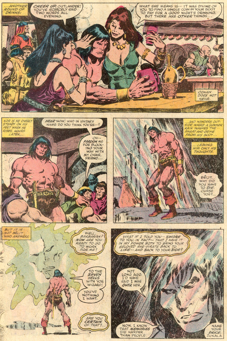 Conan the Barbarian (1970) Issue #115 #127 - English 13