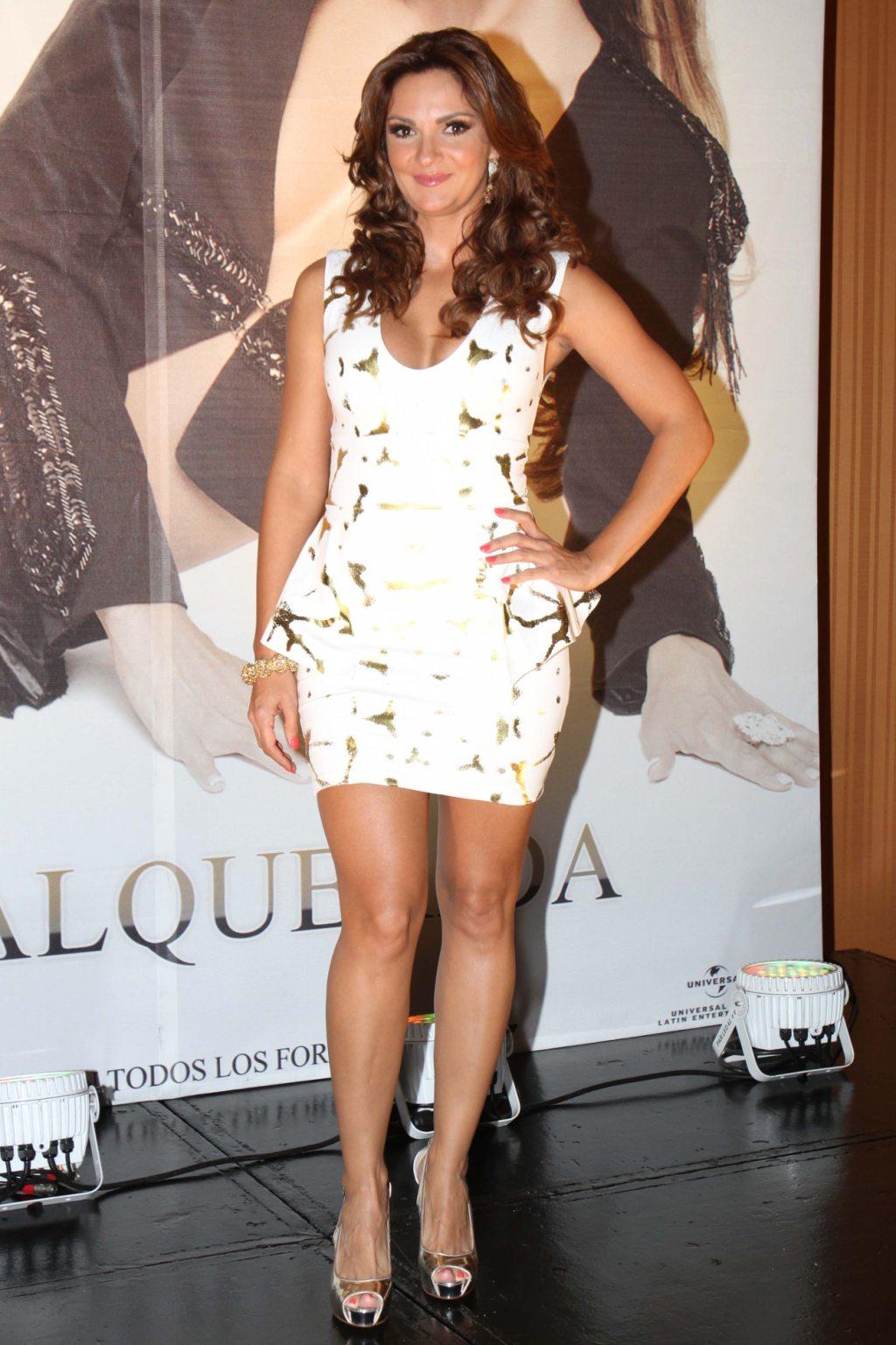La actriz y cantante Mariana Seoane durante conferencia presenta su ...
