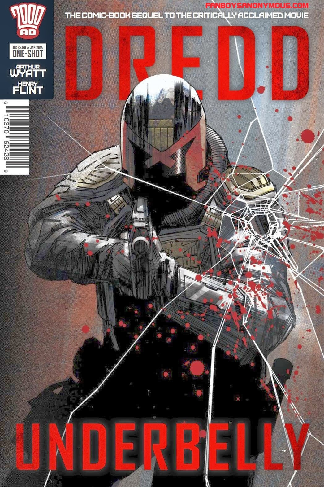 2000AD comic book sequel to the 2012 movie Dredd sells out in 48 hours