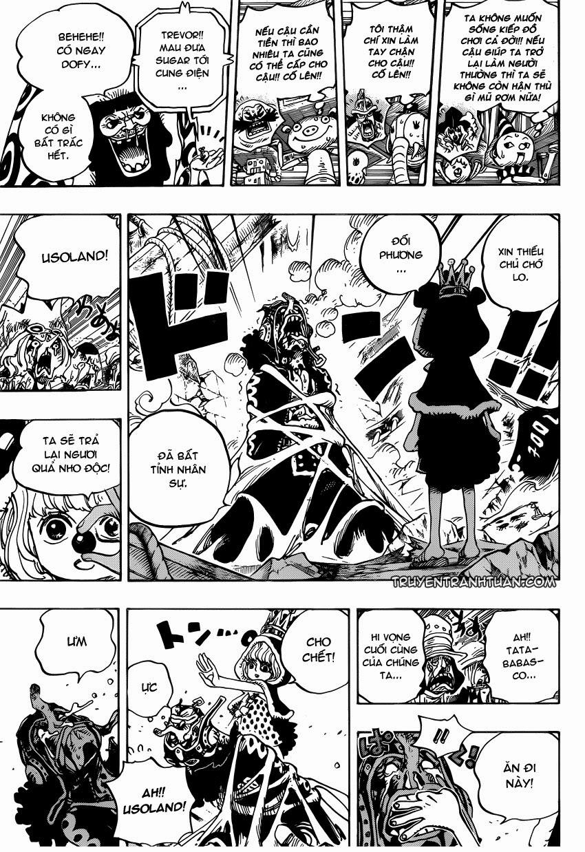 one piece chap 742 trang 018, One Piece chap 742   NarutoSub