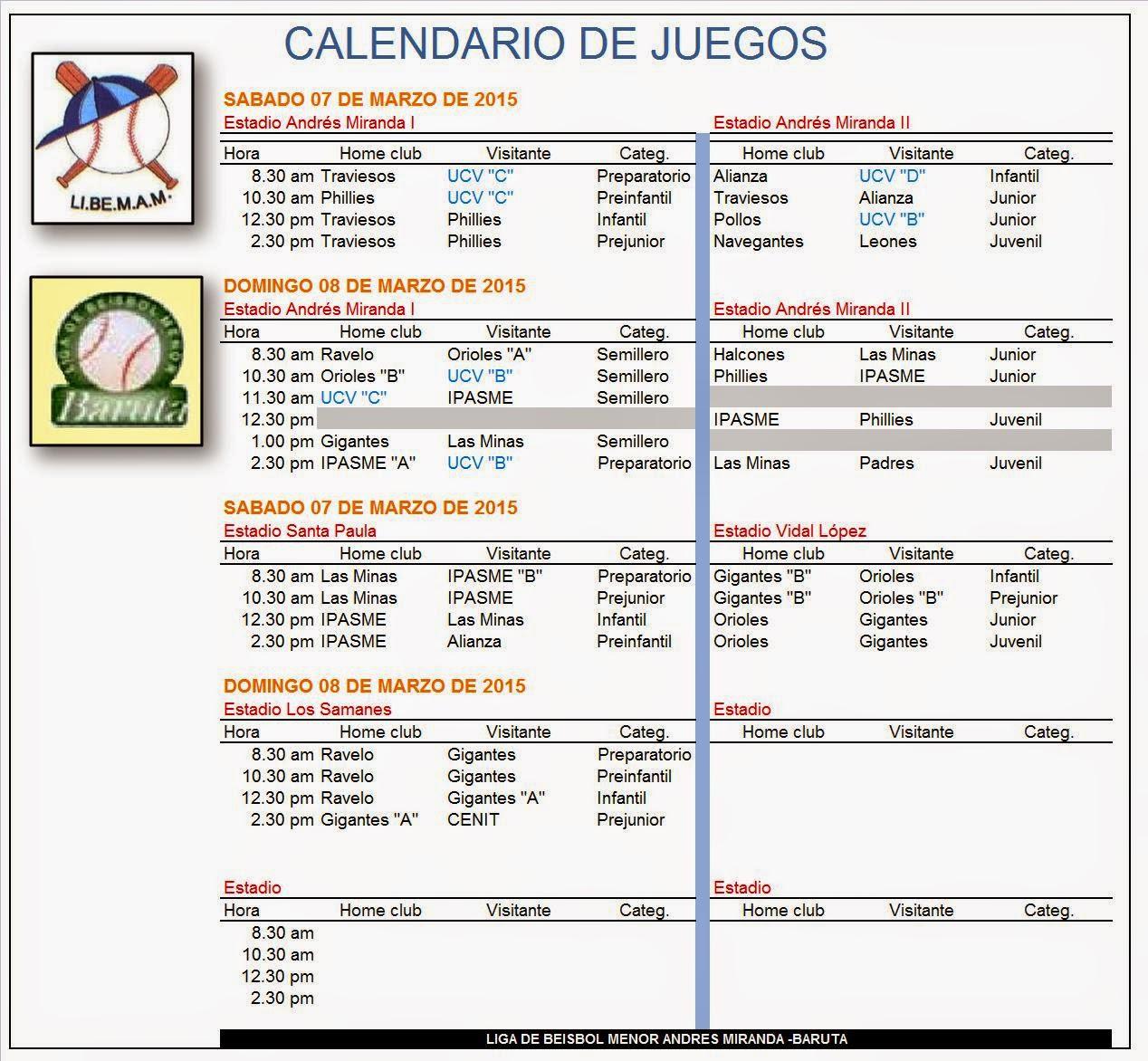 Liga Andrés Miranda - Baruta