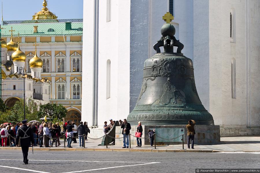 Царь-колокол в Московском Кремле | The Tsar Bell