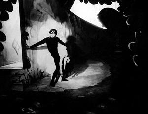 Conrad Veidt y Lil Dagover en El gabinete del Dr. Caligari