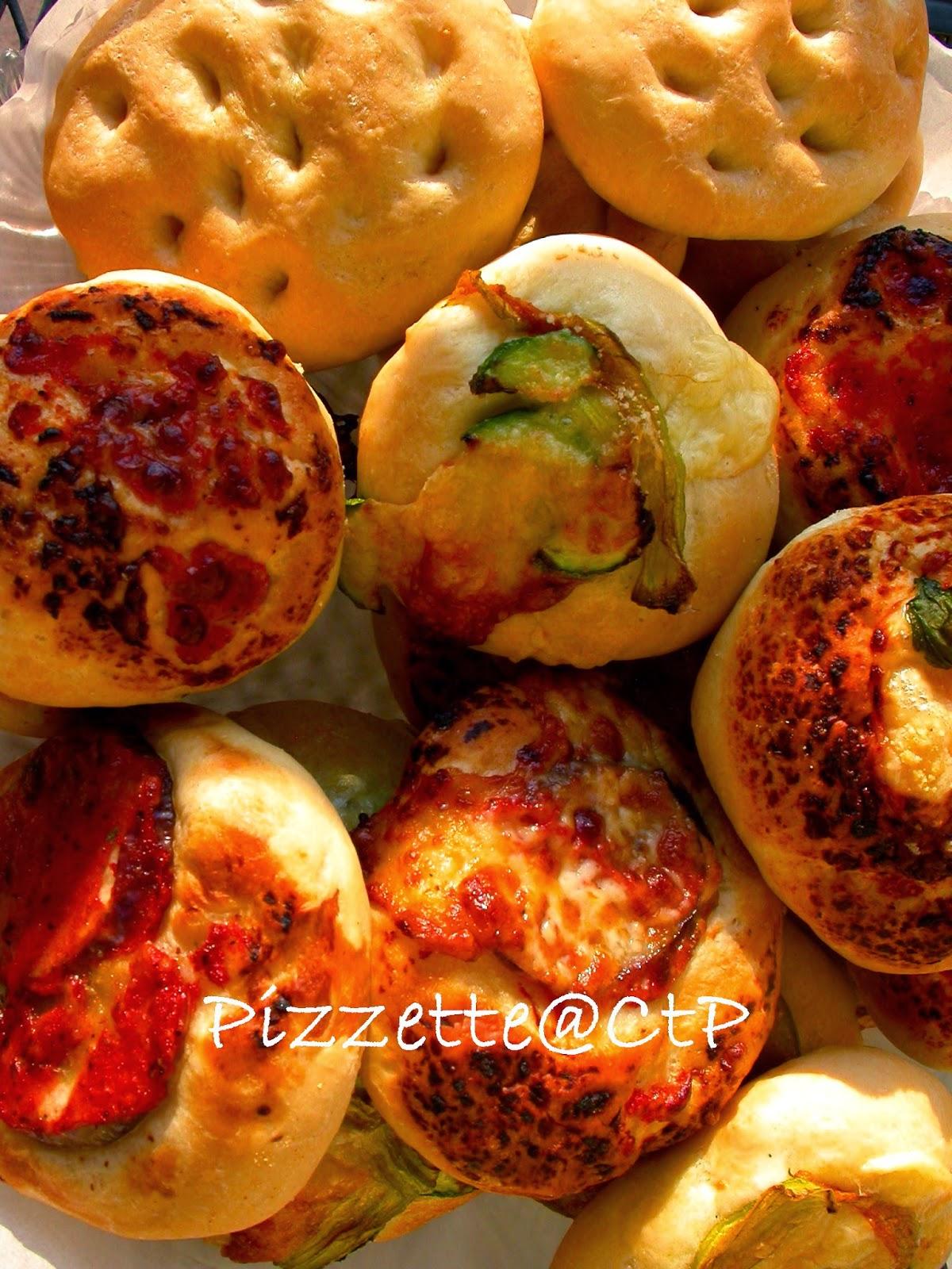 pizzette pomodoro mozzarella zucchine melanzane