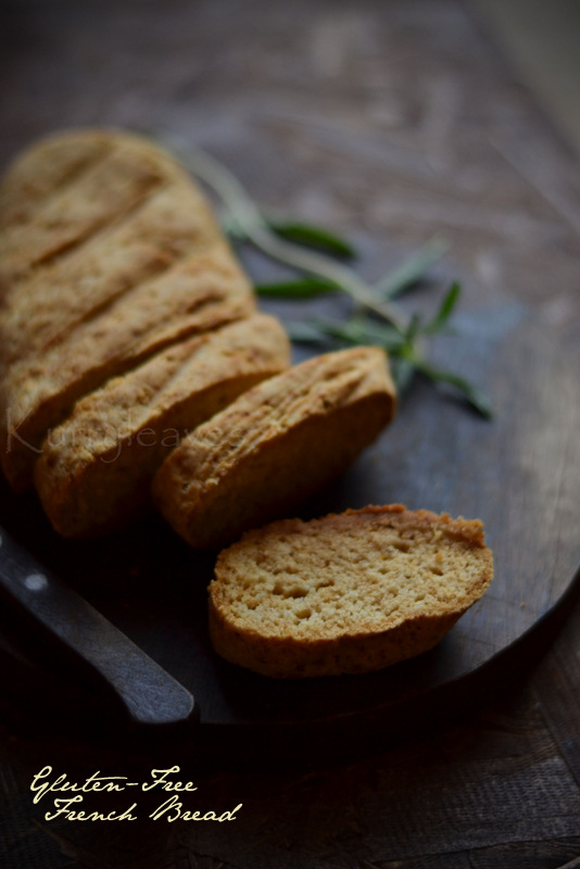 Gluten -Free French Bread | Rice Flour- French Bread