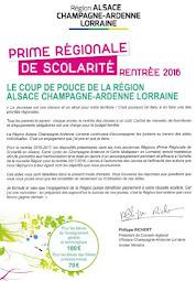PRIME REGIONALE DE SCOLARITE