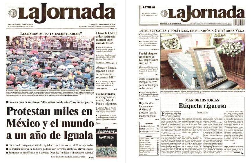Noticias guerrer s sme peri dicos la jornada protestan for Espectaculos del dia de hoy en mexico