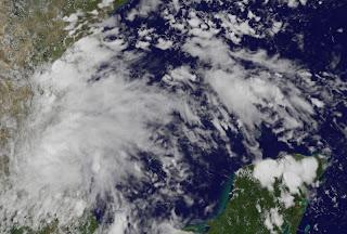 Tropisches Tief 8 Veracruz und Tamaulipas, Mexiko, Humberto, Atlantische Hurrikansaison 2013, Golf von Mexiko, Veracruz, Tamaulipas, Mexiko, September, 2013, Satellitenbild Satellitenbilder
