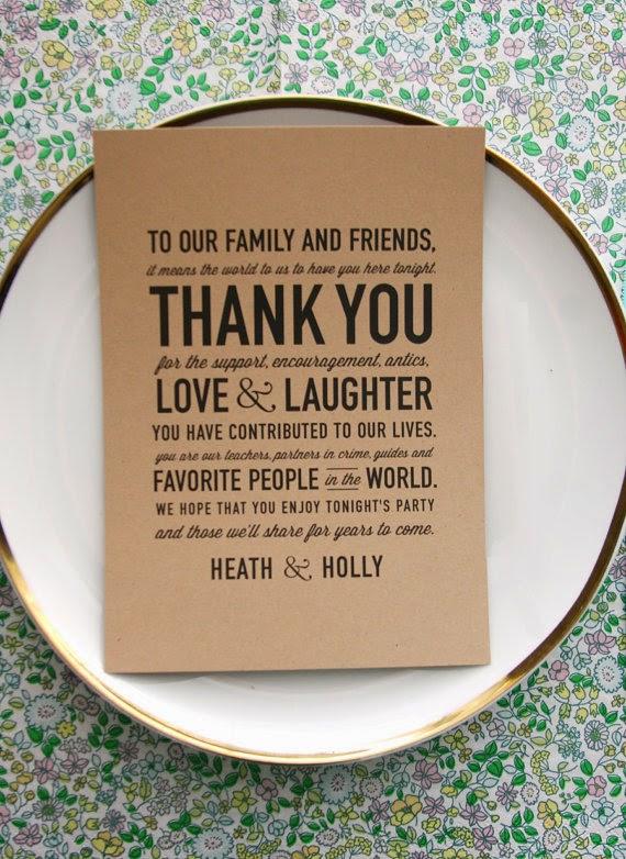 Wedding Thank You Cards Idea - Slim Image