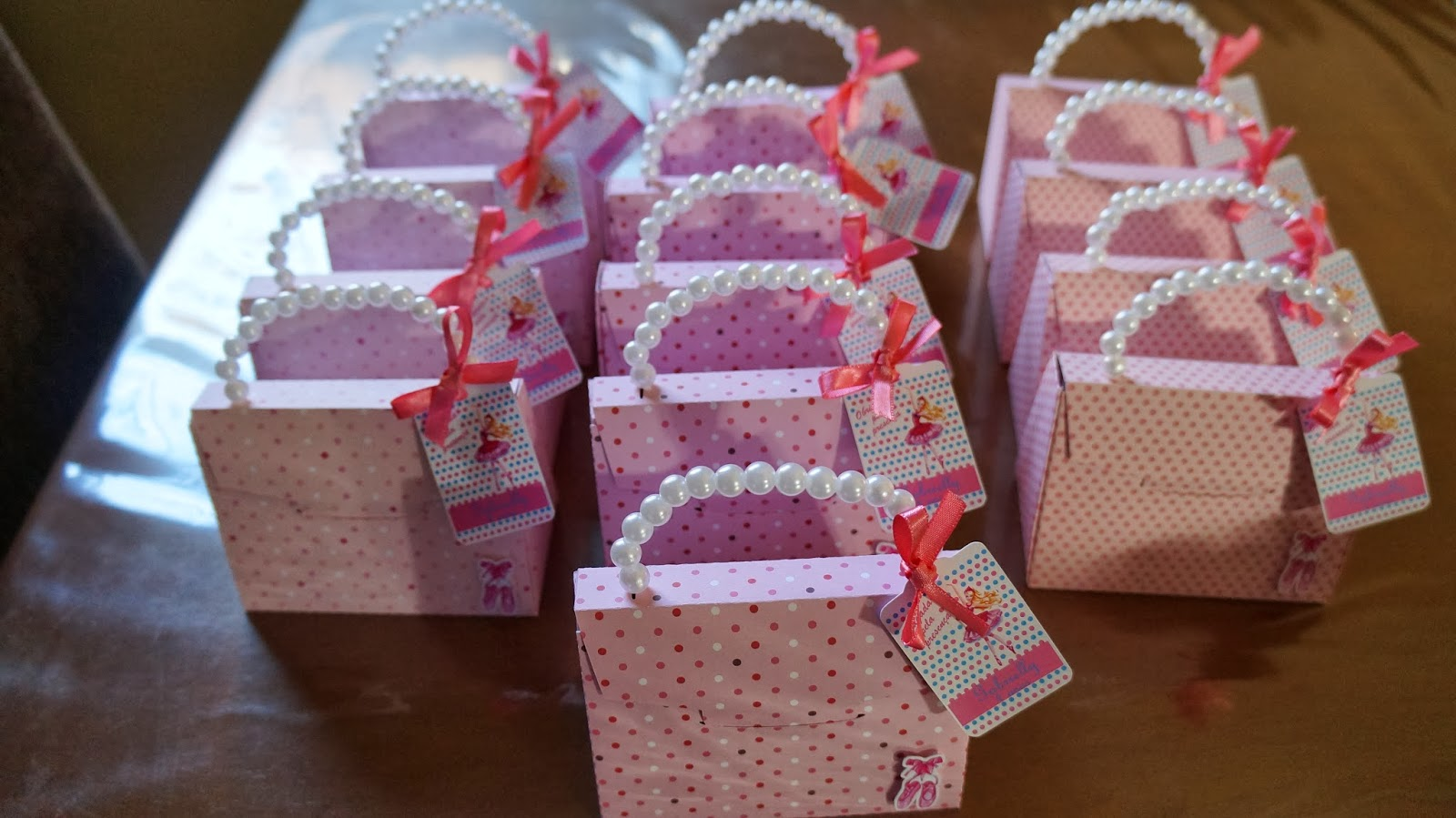 Bolsa De Festa De Aniversario : Lembrancinha festa barbie bailarina ateli? dolce far