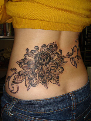 Lower Back Tattoos For Girls