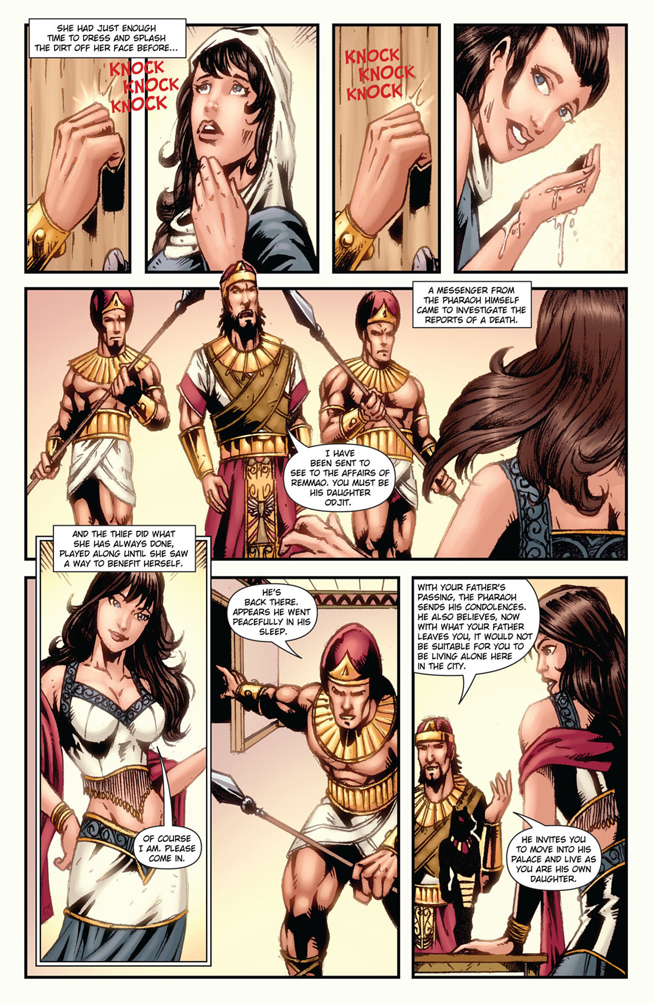 Grimm Fairy Tales (2005) Issue #34 #37 - English 7
