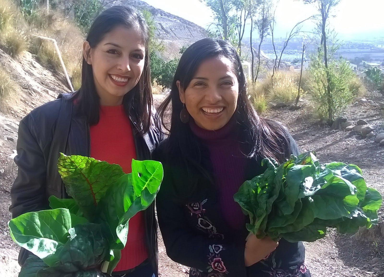 Es un gusto tener amigas con las que compartir la pasión del Medio ambiente