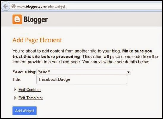 how to add a badge to facebook page