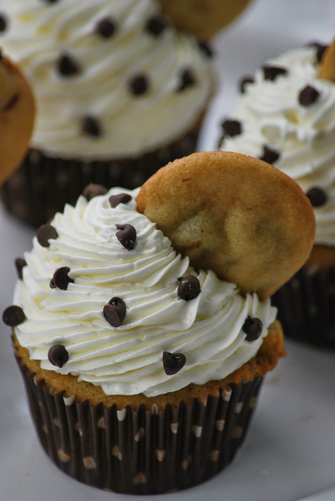 My story in recipes: Chocolate Chip Cookie Dough Cupcakes