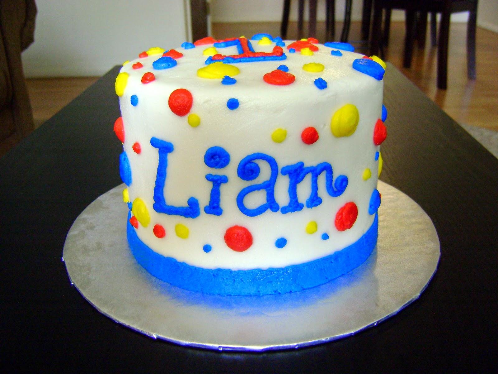 A Karen Cake Happy 1st Birthday Little Liam