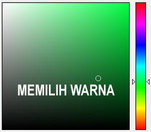 Cara Mudah Memilih Warna dan Mengetahui Kode Warna
