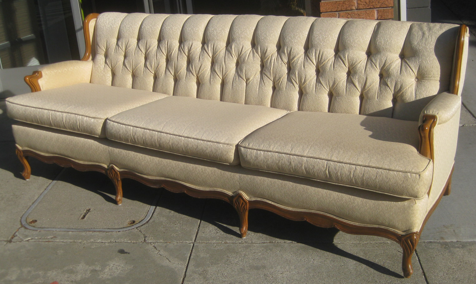 Sold French Provincial Sofa And Chair