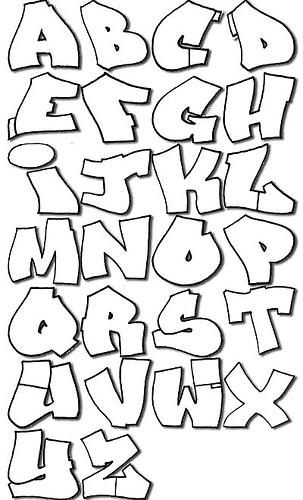 Graffiti alphabet fonts graffiti spray paint picture design