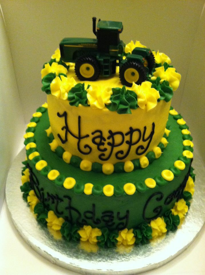 Sweet Treats by Susan Tractor Birthday Cake