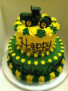 Tractor Pull Birthday Cakes
