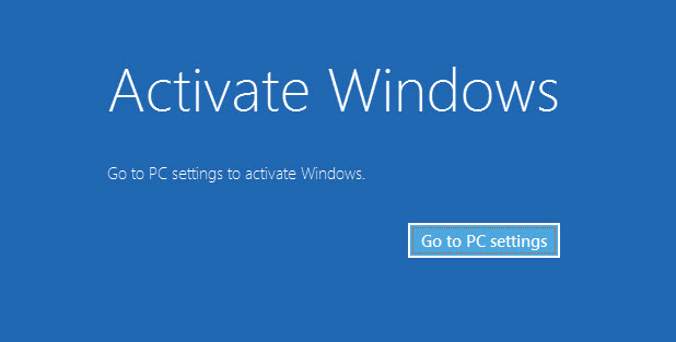Microsoft Start Blocks Free Windows 8 Activation