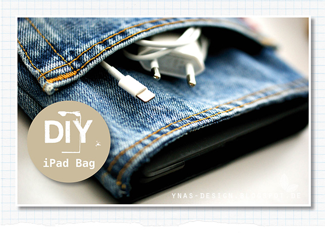 Ynas Design Blog, DIY iPad Tasche